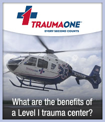 What are the benefits of a Level 1 trauma center?