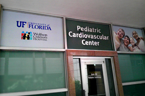 UF Health Pediatric Cardiovascular Center – Wolfson Children's Hospital