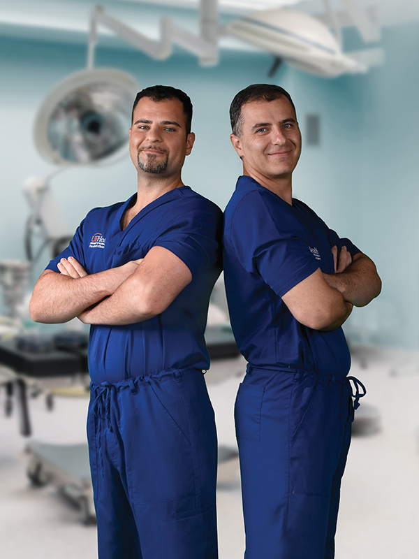 2a79be4059d Kourosh Tavanaiepour, DO, left, specializes in complex spine surgery and  Daryoush Tavanaiepour, MD, specializes in skull base surgery.