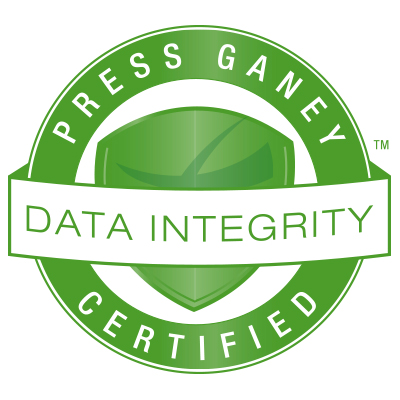 Press Ganey Seal Data Integrity Certified