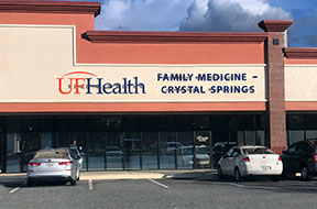 UF Health Family Medicine – Crystal Springs