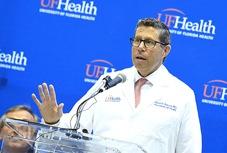 Jacksonville welcomes <br/>UF Health's new leader