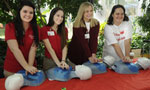 Learning to save lives: 850 high-schoolers take hands-only CPR course in one day