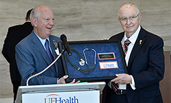 Former hospital CEO honored at UF Health North ceremony