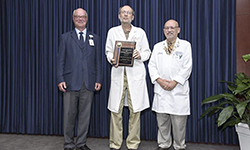 Image: In 2015, Northup won the Luis Russo Award for Outstanding Medical Professional, which is given annually to a single UFCOMJ faculty member. He