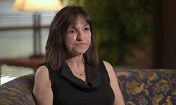 Image: Denise Matteo was referred to Rui Fernandes, MD, DMD, at UF Health Jacksonville, who removed her cancer.