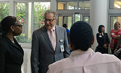 Image: Wilson held several positions at the UF College of Medicine – Jacksonville over the years, including chair of community health and family medicine and senior associate dean for clinical affairs.