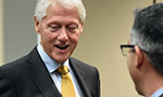 A few good minutes with former President Bill Clinton  - Thumb
