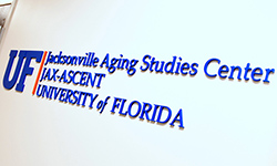 Image: The Jacksonville Aging Studies Center, or JAX-ASCENT, is located on the second floor of the Professional Office Building on the UF Health Jacksonville campus.