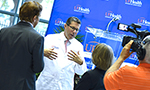 Jacksonville campus welcomes new UF Health president  - Thumb