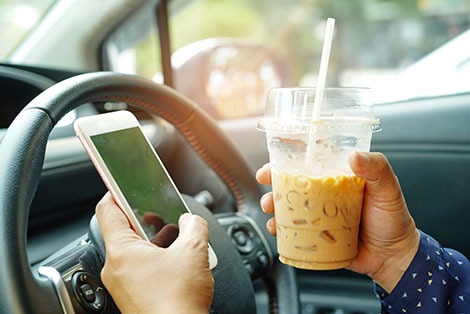 Avoid Distracted Driving: Stay Aware and Alert - Thumb
